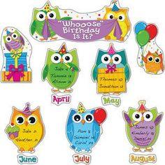 Bildergebnis für birthday calendar school