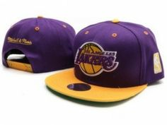 Gorra Plana Lakers