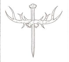 deer antler tattoo with cross images | Hunter's Cross by Hellsing-Order on deviantART