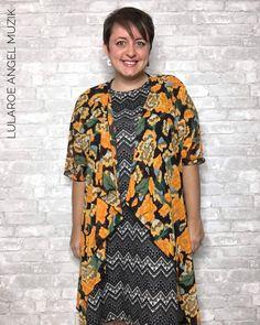LuLaRoe Carly Dress LuLaRoe Shirley kimono