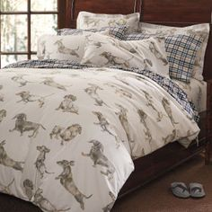 The popular dachshund flannel bedding is BACK!