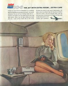 United Air Lines DC-8 - 1960
