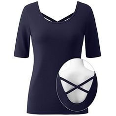 f3c62e9426a24d Regna X Bother Women s Moisture Wicking Sport Long Sleeve Tops(2 Different  Strap STYLES