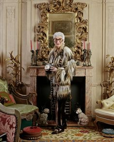 Photo: Christopher Sturman / Trunk Archive --- Style Icon Iris Apfel on Her Starring Role in a New Documentary