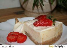 Cheesecake recept - TopRecepty.cz Thing 1, Something Sweet, Ricotta, Cheesecake, Cupcakes, Tasty, Treats, Baking, Recipes
