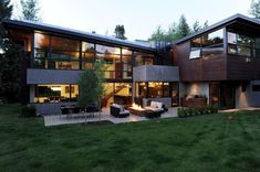 Mountain View Residence - A project by Cottle Carr Yaw Architects LTD