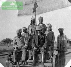 british raj - Railway Line inspection at Mianwali
