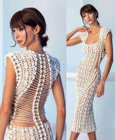 Helen Rodel: Brazilian crochet and talented! Facing The Sea Hippie Dresses, Beach Dresses, Boho Dress, Summer Dresses, Dress Beach, Linen Dresses, Crochet Beach Dress, Knit Dress, Moda Crochet