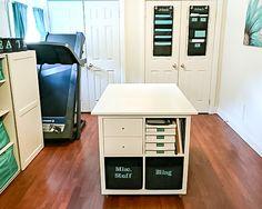 You Create with Alyson Mayo Storage Ideas Craft Room Storage, Storage Ideas, Creative Storage, Craft Rooms, Sewing Room Design, Sewing Rooms, Scrapbook Room Organization, Den Ideas, Room Ideas