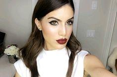 @blogbrunalucena #camilacoelho #maquiagem #makeuptime #redlips #makeup