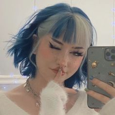 Dye My Hair, New Hair, Your Hair, Aesthetic Hair, Aesthetic Grunge, Aesthetic Women, Aesthetic Drawing, Hair Inspo, Hair Inspiration
