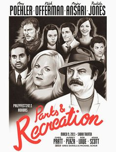 Oh hey there, Parks and Rec Casablanca poster.