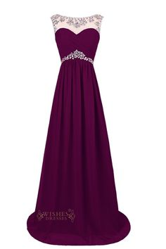 This glamorous full-length chiffon formal gown will absolutely make you to be…