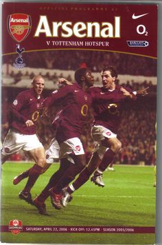 Arsenal v Tottenham Hotspur Football Programme Premiership 22/04/2006 Listing in the Premiership Fixtures,2004-Now,League Fixtures,English Leagues,Football (Soccer),Sports Programmes,Sport Memorabilia & Cards Category on eBid United Kingdom