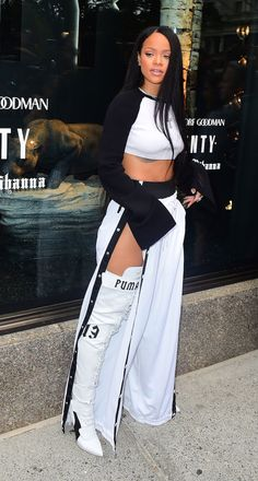 Rihanna Proves That No One Rocks Fenty x Puma Better Than She Can http://ift.tt/2czdm5h #Vogue #Fashion