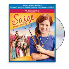 The American Girl Movies! My little artists will love Saige! An American Girl: Saige Paints the Sky Kerr Smith, American Girl Books, American Girls, Sky Tv, Jane Seymour, New School Year, Slumber Parties, Sleepover Party, Book Girl