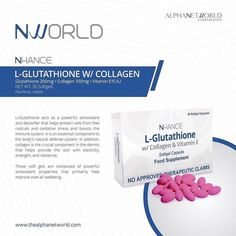 L-Glutathione w/ Collagen Open for distributorship Enjoy Lifetime discount Product rebates Cash incentives and Travel incentives! For orders and inquiries: 0917 326 5378 by nworld_ap Nlighten Products, Beauty Products, Oxidative Stress, Immune System, Collagen, Whitening, Health And Beauty, Messages, Day