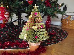 Nanny's Pansy Patch: Medallion Christmas Tree