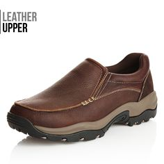 Chad Leather Slip-on - Fashion 4 Men Leather Slip On Shoes, Leather Men, Dark Brown Leather, Latest Fashion Clothes, Women's Accessories, Casual Shoes, Hiking Boots, Men's Shoes, Footwear