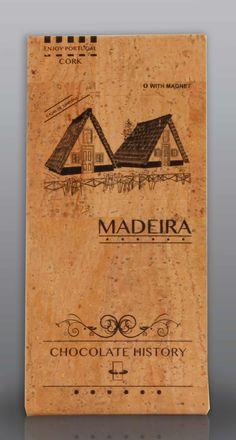 Madeira | Casas de Santana  | Chocolate Negro 48% Cacau 125 g History Of Chocolate, Decor, Cocoa, Feelings, Wood, Decoration, Decorating, Deco