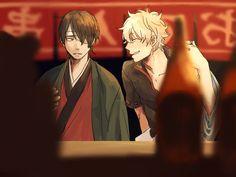 Gintama, Sakata Gintoki, Takasugi Shinsuke
