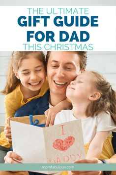 Knowing what to give your Dad for Christmas can be as ambiguous as ever, and because of this, we wanted to make it a bit simpler on everyone. Which is exactly why we made a gift guide with options every Dad is sure to love. #MomLife #MomFabulous #Mom #parenting #parenthood #christmas #giftguide #gifts #guides #dad #dadlife #giftsforhim #fatherhood Parenting Toddlers, Parenting Hacks, Thing 1, The Ultimate Gift, Positive Discipline, Christmas Mom, Make A Gift, Ways To Save, You Are The Father