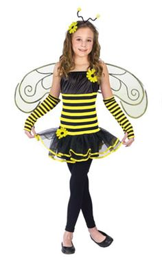 Kids Bumble Bee Costume - Bumblebee Ballerina