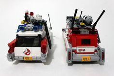 LEGO Ghostbusters Ecto-1 & 2 (75828) http://www.flickr.com/photos/tormentalous/27841460630/