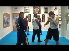 FMK Martial Arts Beginners Sparring Drill #1 - YouTube