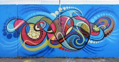 Image result for abstract mural building