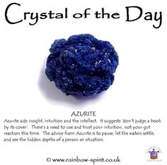 Crystal healing properties of Azurite