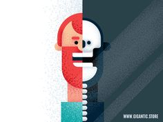 Flat Design Character Illustration in After Effects CC 2019 by Gigantic