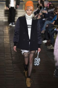 Alexander Wang NYFW Fall 2016. Made by Stoll Knit Resource.