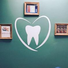 Tooth Vinyl For Dental Clinic Decor Solid Surface, Vinyl Wall Decals, Wall Sticker, Dental Office Decor, Office Lamp, Dental Posters, Dental Art, Dental Teeth, Painting Quotes