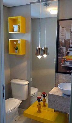 10 ideias #econômicas para transformar seu #banheiro (colocar nichos é mais uma delas!). Veja no #Simplesdecoracao