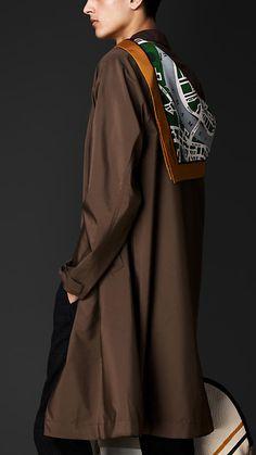 Burberry Prorsum Lightweight Silk Caban
