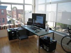 81 Awesome Apple Mac workspace images | Office home, Desk, Home Office