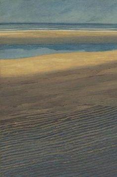 Leon Spilliaert - Marine. Plage a maree basse