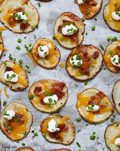 Potato Sides, Potato Side Dishes, Best Side Dishes, Chicken Wing Side Dishes, Best Party Appetizers, Appetizer Recipes, Appetizer Party, Party Recipes, Easy Christmas Appetizers