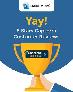 We are delighted that #Capterra website rates Planium Pro 5 star, thanks to the excellent feedback from our users. It's always great to see positive results from our efforts to offer quick and efficient #strategicplanning solution. Business Plan Software, Business Planning, Strategic Planning, Effort, Thankful, Positivity, How To Plan, Website, Stars