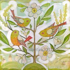cori dantini draws the most amazing birds!