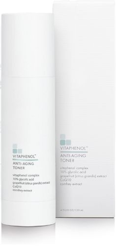 When you're NOT using your facial peel, use this 10% Glycolic toner twice a day for AMAZING results! I got mine on eBay for $10 so don't pay full price! This gentle, deep-cleansing, exfoliating facial toner promotes removal of dull, dead surface skin cells, clears pores and balances and brightens skin. The results from this facial skin toner are visible reduction of the appearance of fine lines and wrinkles while restoring skin to a smoother, softer tone and texture.