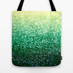 Blizzard over Evergreen Tote Bag by Lisa Argyropoulos - $22.00