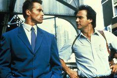 "Arnold Schwarzenegger y James Belushi en ""Danko: Calor Rojo"" (Red Heat), 1988 Movie Sequels, Movie Tv, Comedy Actors, Actors & Actresses, Arnold Movies, Heat Movie, Arnold Schwarzenegger Movies, Cops Tv, Conan The Destroyer"