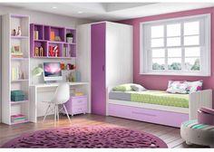 Mobiliário Infantil e Juvenil 0001 Mobiliário Infantil e Juvenil 0001 Girl Bedroom Designs, Girls Bedroom, Bedroom Decor, Bedrooms, Study Table Designs, Little Girl Rooms, New Room, House Rooms, Dream Bedroom