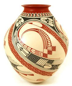 Mata Ortiz Pottery Mexican Folk Art