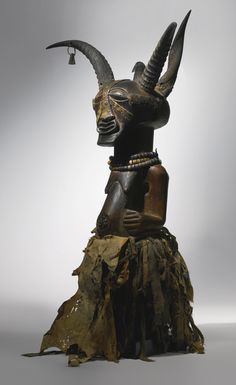 "SONGYE ""FOUR HORN"" COMMUNITY POWER FIGURE, DEMOCRATIC REPUBLIC OF THE CONGO Allan Stone Collection"
