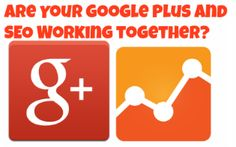 Are Your Google Plus and SEO Working Together? If Not, You're Missing Out! #SEO #SocialMedia #GooglePlus