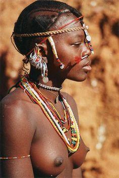 Tribes of Judah . A Badik girl