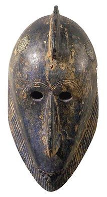Dogon hunter mask, Mali, early 20th century (wood)